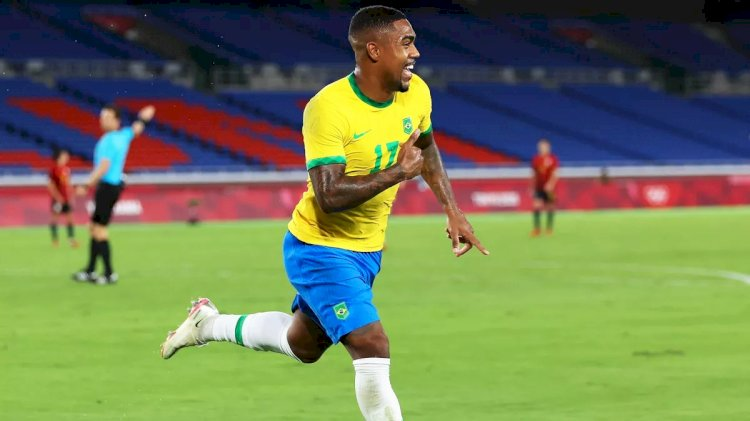 Menang 2-1 atas Spanyol, Brasil Raih Emas Sepakbola Olimpiade Tokyo 2020