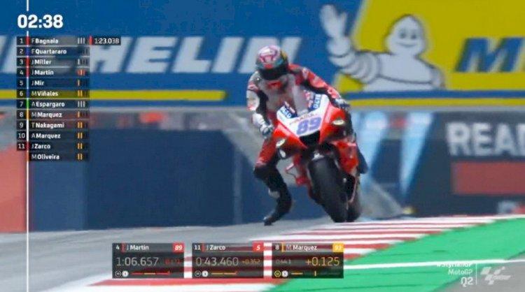 Jorge Martin Buat Kejutan, Raih Pole di MotoGP Styria