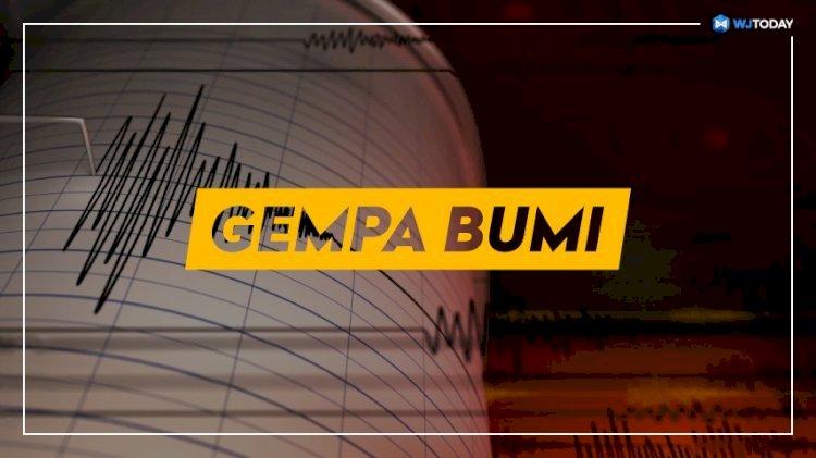 Dua Gempa Beruntun Guncang Kabupaten Bandung