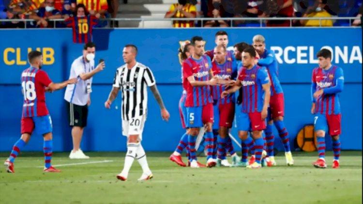Awali Laga Tanpa Messi, Barcelona Kalahkan Juventus 3-0