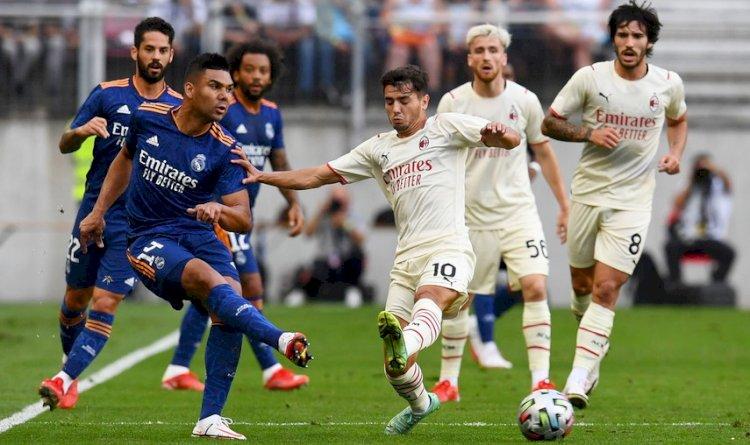 Laga Pramusim: Madrid vs MIlan Imbang, Tottenham Menang, Atletico Kalah