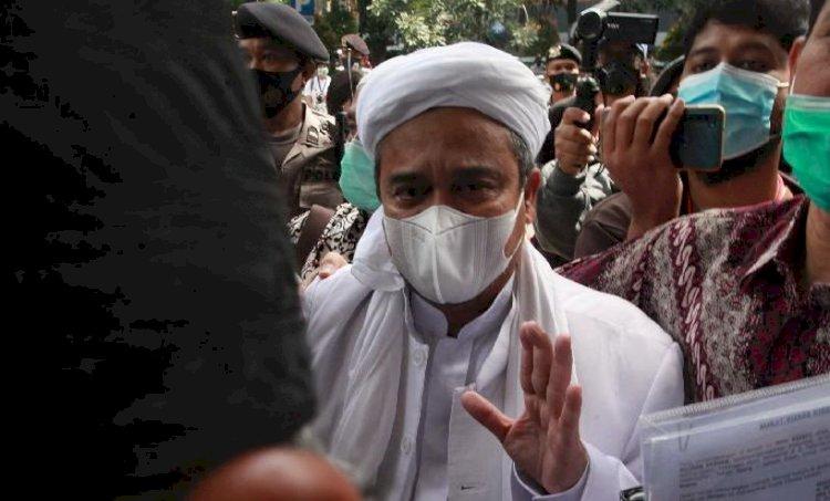 Tak Jadi Bebas, Habib Rizieq Ditahan Lagi 30 Hari untuk Perkara RS ummi