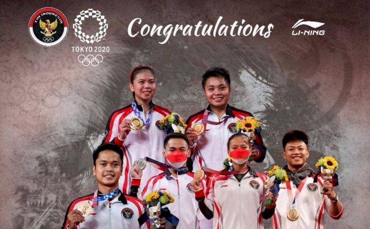 Harumkan Nama Indonesia di Olimpiade Tokyo 2020, Atlet Peraih Medali Bakal Jadi ASN