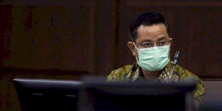 Bacakan Nota Pembelaan, Juliari Minta Maaf ke Jokowi dan Megawati