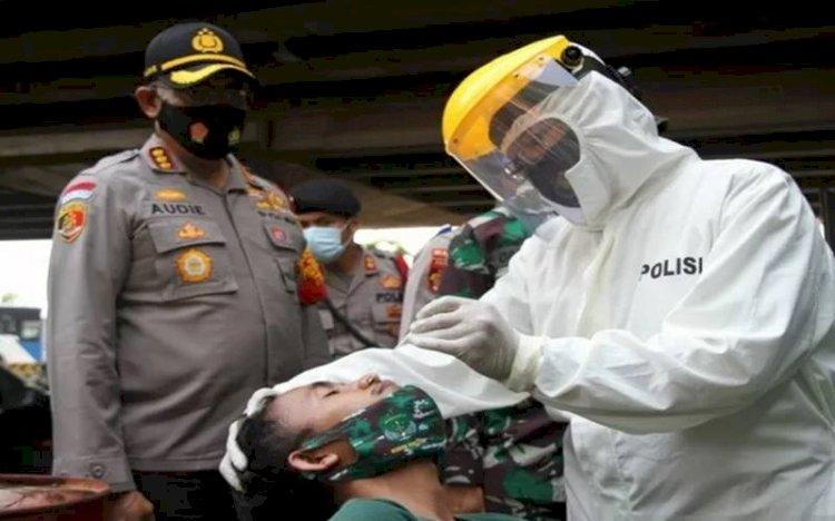 Testing dan Tracing Covid-19 akan Lebih Agresif Dibantu TNI-Polri