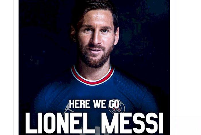 Messi Sepakat Gabung PSG, Bakal Kenakan Jersey Nomor 30