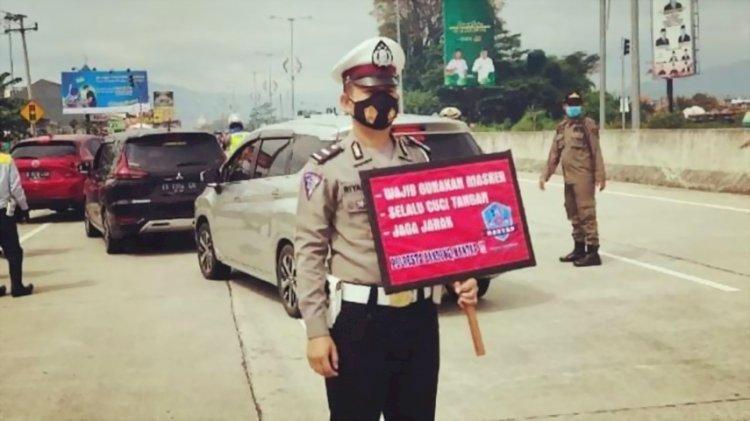 Sejumlah Ruas Jalan di Kabupaten Bandung Terapkan Aturan Ganjil-Genap