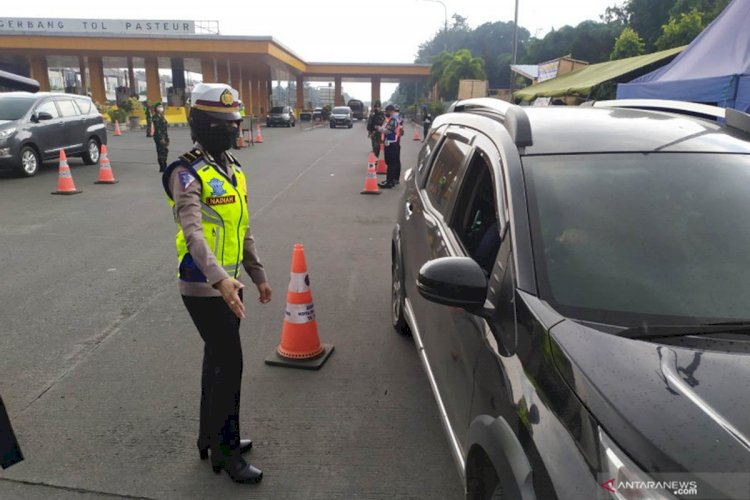 PPKM Diperpanjang, Kota Bandung Tetap Lakukan Penyekatan