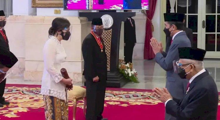Presiden Berikan Penghargaan Bintang Mahaputra, Bintang Budaya Parama Dharma, dan Bintang Jasa