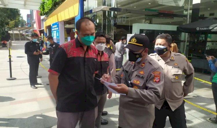 Polisi Tegas Minta Mal dan Pusat Perbelanjaan di Bandung Ditutup Jika Langgar Aturan Uji Coba