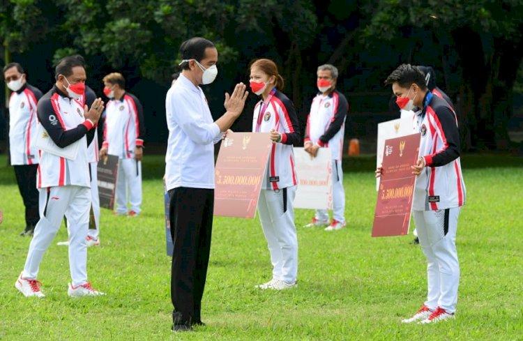 Jokowi Apresiasi Atlet dan Pelatih Olimpiade Tokyo 2020