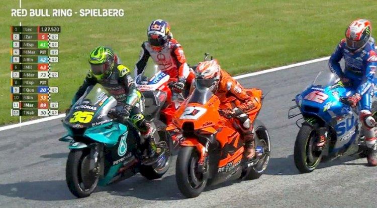 Hasil FP2 MotoGP Austria: Lecuona Tercepat, Disusul Zarco