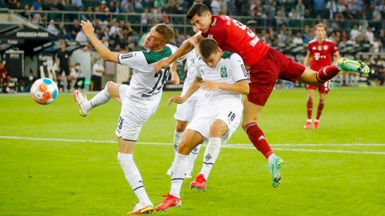 Laga Pembuka Liga Jerman: Muenchen Bermain Imbang 1-1 Kontra Gladbach