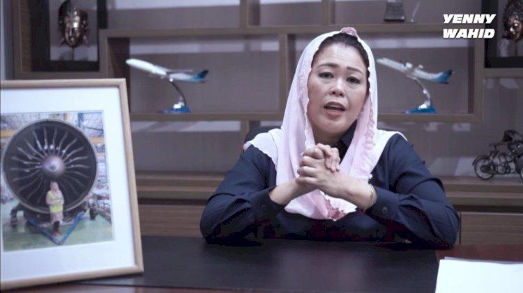 Yenny Wahid Mundur Dari Posisi Komisaris Independen Garuda Indonesia