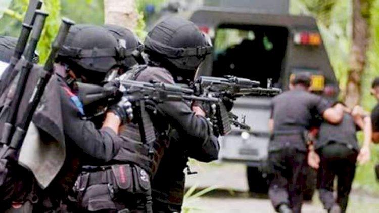 Densus Tangkap 37 Terduga teroris di 10 provinsi
