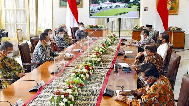 Pimpinan MPR Tanya ke Jokowi soal Amandemen dan Masa Jabatan Presiden