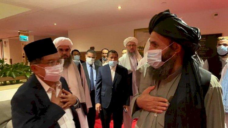 Sempat Bertemu, JK: Taliban Jamin Tak Usik Keamanan KBRI