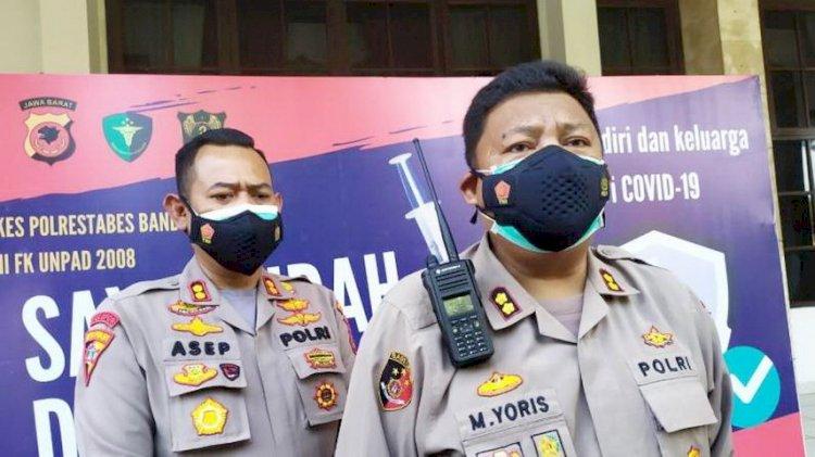 Polrestabes Bandung Bekuk 13 Orang Terkait Dugaan Pungli di Pasar Caringin
