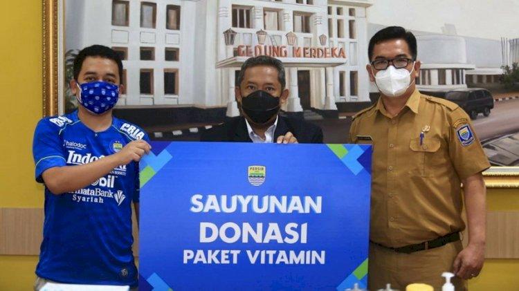 Persib Bakal Salurkan 5.000 Paket Vitamin untuk Warga Bandung