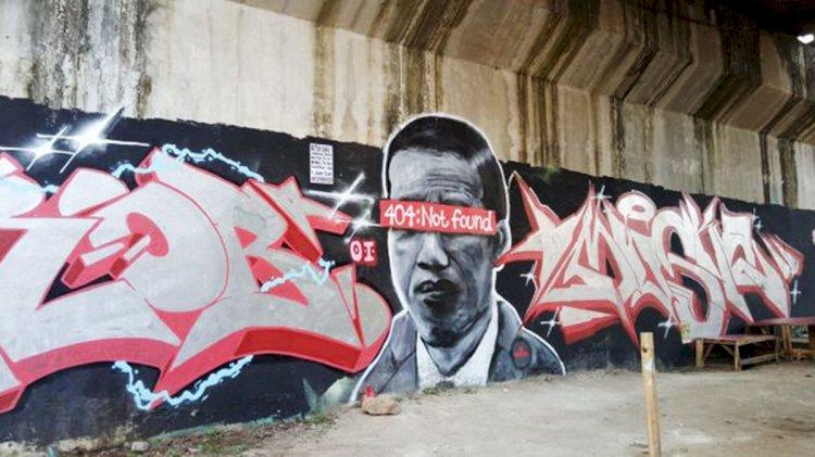 Soal Mural Jokowi 404: Not Found, Wali Kota Tangerang: Bentuk Ekspresi Masyarakat, Sikapi dengan Bijak