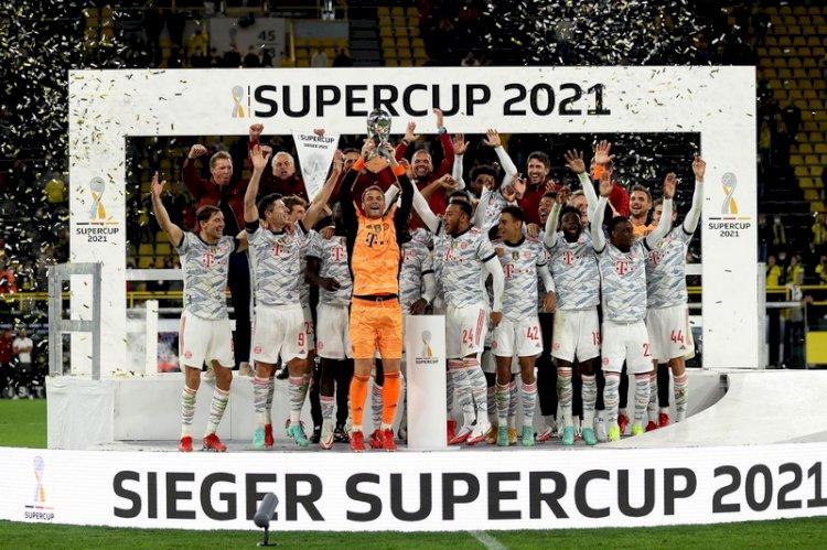 Piala Super Jerman: Munchen Juara, Kalahkan Dortmund 3-1