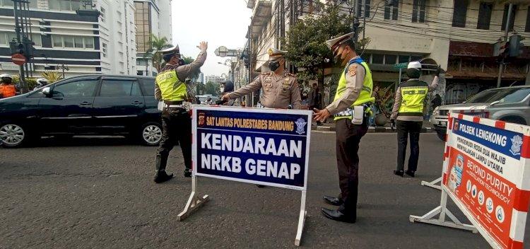 Kadishub Klaim Ganjil-Genap di Kota Bandung Turunkan 50 Persen Mobilitas Warga