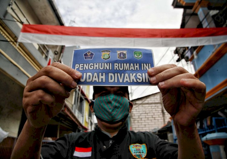 Rumah Warga yang Belum Vaksin Ditempeli Stiker Dinilai Maladministrasi, Ini Kata Polda Metro Jaya