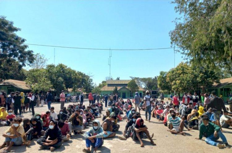 Ratusan WNA asal Timor Leste Dideportasi dari Indonesia