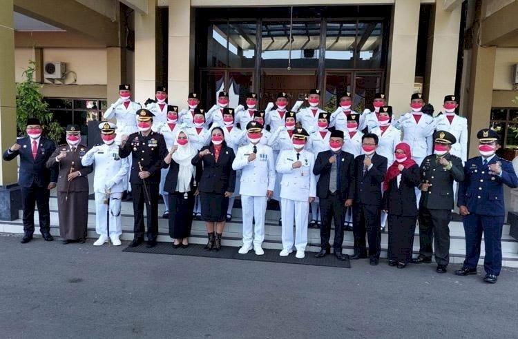 20 Anggota Paskibra HUT ke-76 RI di Gunung Kidul Positif Covid-19