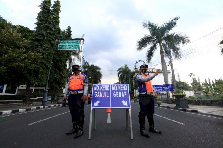 Sistem Ganjil-Genap di Bandung Kembali Diberlakukan Mulai Hari Ini