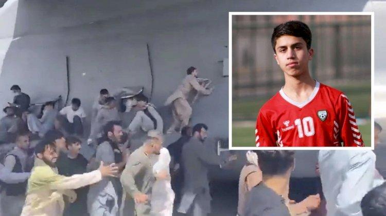 Mantan Pesepakbola Muda Afghanistan Jadi Korban Tewas, Jatuh dari Pesawat AS di Kabul