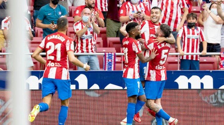 Liga Spanyol: Atletico Menang, Real Madrid Ditahan Levante