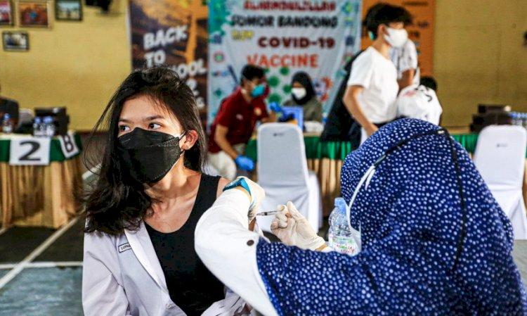 Bandung Genjot Vaksinasi Remaja untuk Akselerasi Gelar PTM