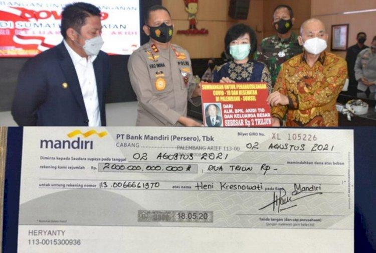Soal Sumbangan Keluarga Akidi Tio, IPW Laporkan Heryanti dan Kapolda Sumsel ke Bareskrim Polri Hari Ini