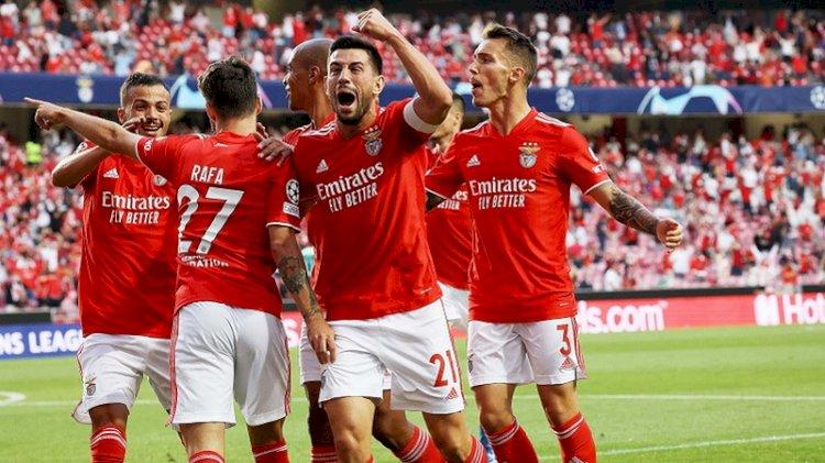 Playoff Liga Champions: Benfica, Malmo, dan Young Boys Lolos ke Fase Grup