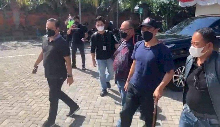 Tiba di Bareskrim, M Kece: Semoga Bangsa Indonesia Sadar