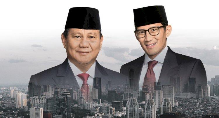 Gagal di Pilpres 2019, Lembaga Survei Catat Prabowo-Sandi Jadi Menteri Berkinerja Terbaik