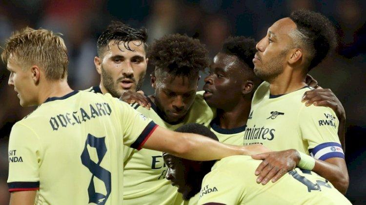 Piala Liga: Arsenal Hajar Tuan Rumah West Bromwich Albion 6-0