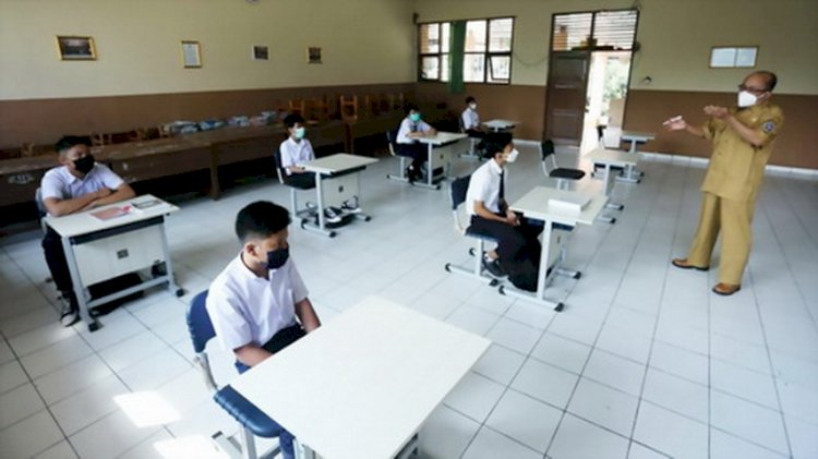 PPKM Level 3, Bandung tak Langsung Berlakukan PTM di Sekolah