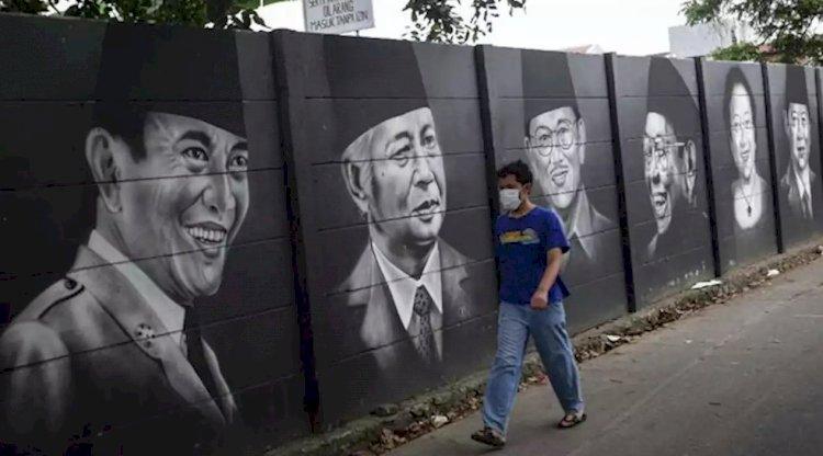KontraS: Mural Jadi Sarana Protes Saat Aksi Damai Ditangkap dan Audiensi Ditolak