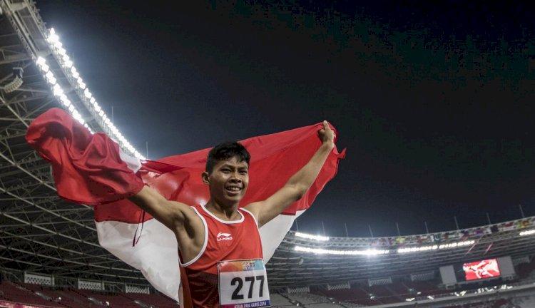 Sapto Yogo Purnomo Raih Perunggu di Lari 100 Meter Paralimpiade Tokyo 2020
