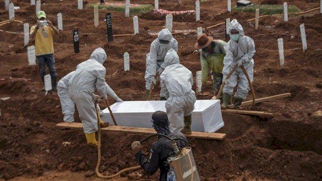 Angka Kematian Akibat Covid-19 Harus Ditekan Terus
