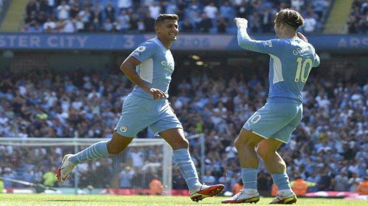 Liga Inggris: Man City Lumat Arsenal 5-0