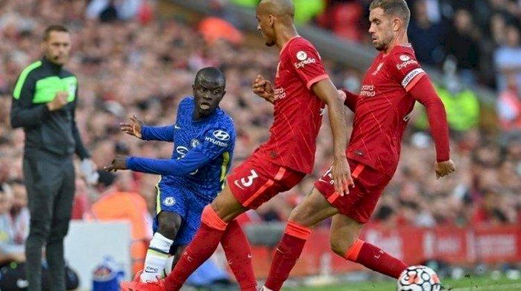 Klasemen Liga Inggris Usai Liverpool Imbang 1-1 Kontra Chelsea