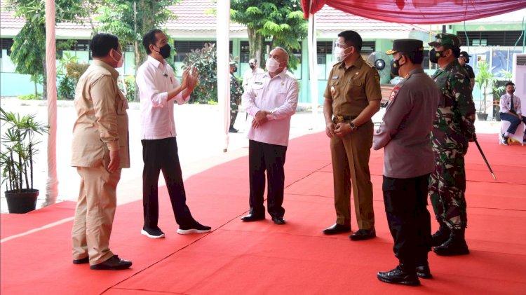 Polemik Vaksin Booster Pejabat, Jokowi dan Menkes Disomasi LaporCovid19