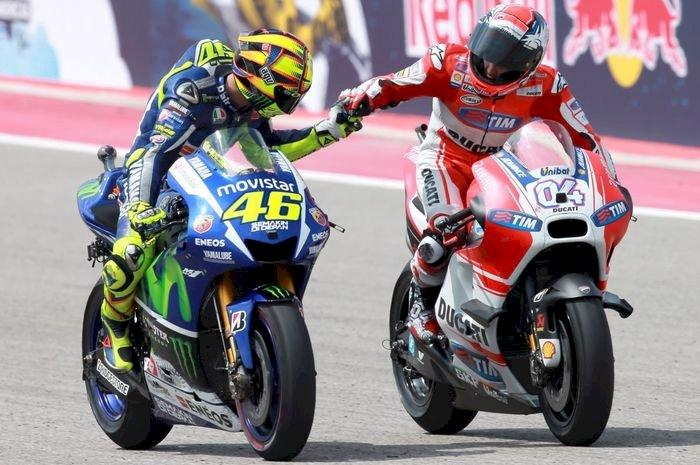 Petronas Yamaha SRT Duetkan Rossi dengan Dovizioso