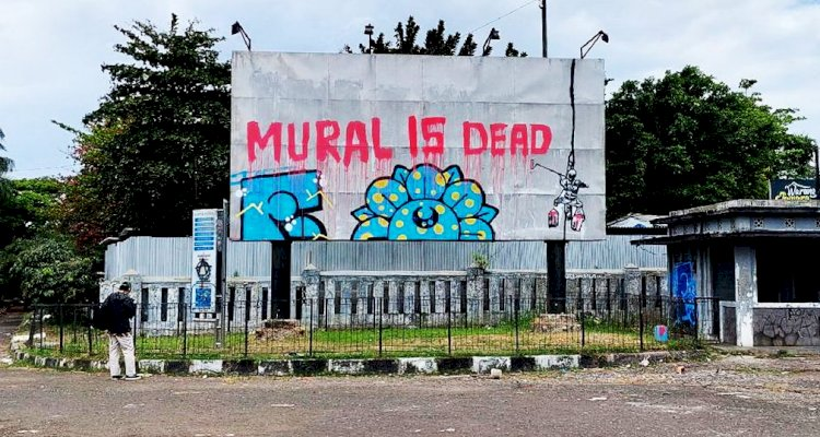 Mural Kritikan di Bandung Kian Marak dan Dihapus Petugas, Ini Respons Mang Oded