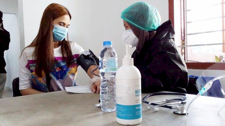 Dukung Percepatan, Dinkes Bandung Gelar Vaksinasi di Wilayah Haji Kurdi