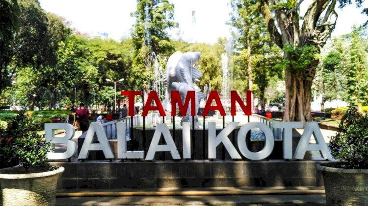Pemkot Masih Tutup Taman Kota di Bandung