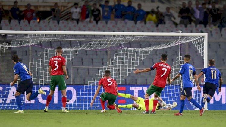 Hasil Kualifikasi Piala Dunia 2022: Italia Imbang, Jerman Menang